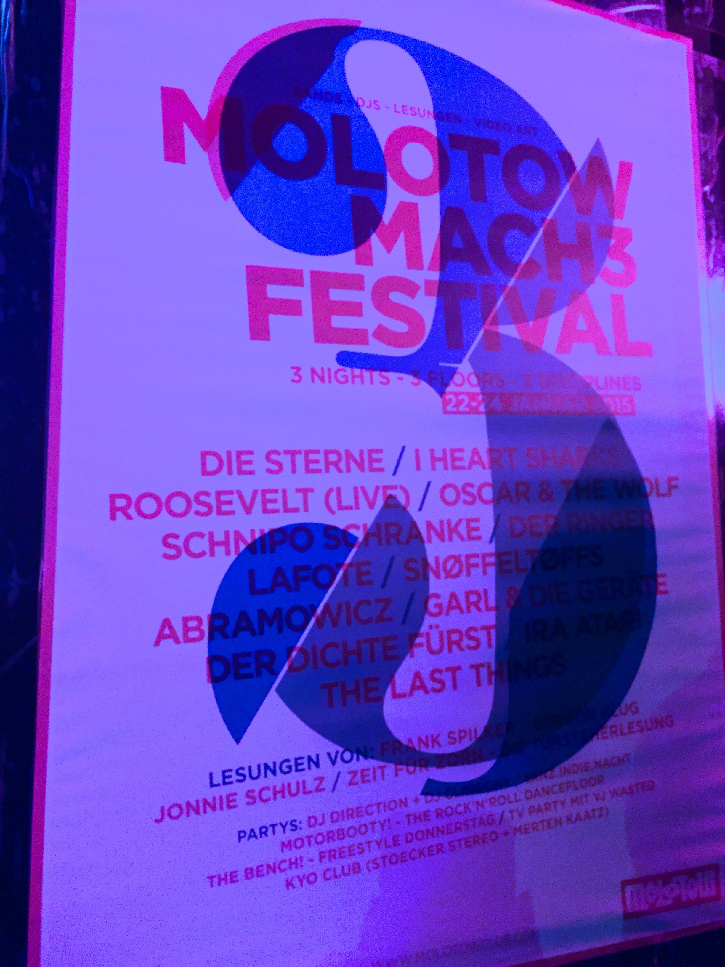 Mach 3 Festival Molotow Hamburg 2015