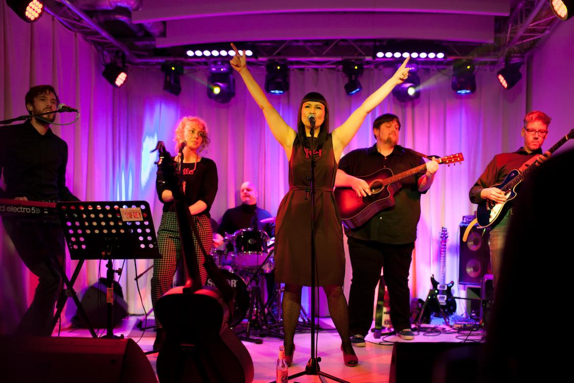 "Fräulein Frey Album Release ""Hallo Leben"" Konzert im Kukuun, St.Pauli, Hamburg, November 2017"