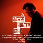 The James Hunter Six für 5  Konzerte in Deutschland 2020