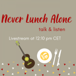 Never Lunch Alone – talk & listen auf Instagram