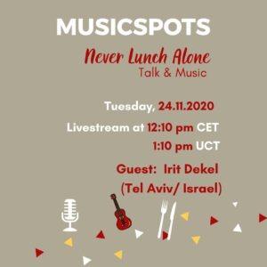 Irit_Dekel_Never_Lunch_Alone