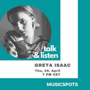 Greta Isaac_Talk & Listen