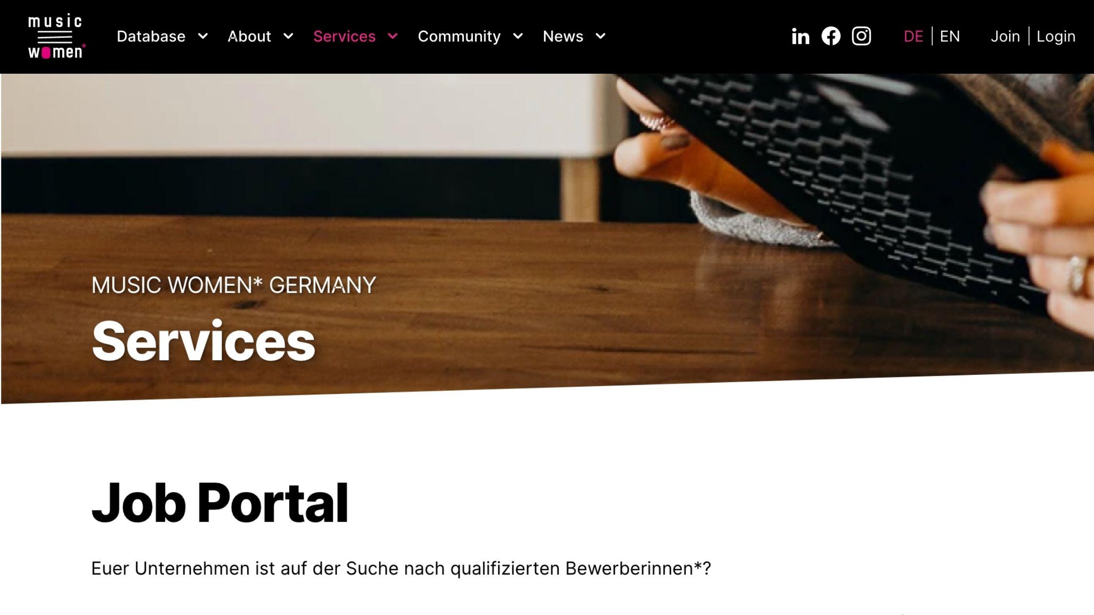 Job Portal für Musiker:innen & Musikschaffende zeigt Perspektiven auf